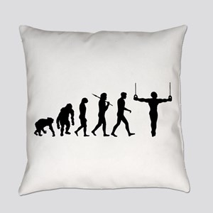 Rings Gymnast Everyday Pillow
