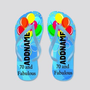 Fantastic 70th Flip Flops