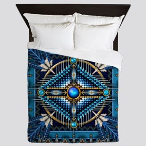 Native American Style Tapestry 3 Queen Duvet