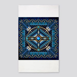 Native American Style Tapestry 3 Area Rug