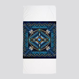 Native American Style Tapestry 3 Beach Towel
