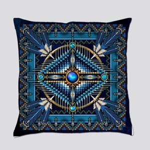 Native American Style Tapestry 3 Everyday Pillow
