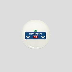 Rotterdam Roadmarker (NL) Mini Button