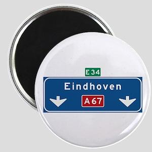 Eindhoven Roadmarker (NL) Magnet