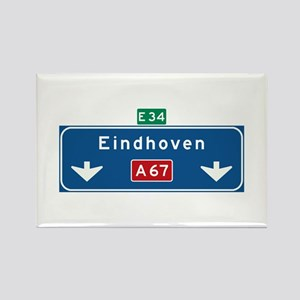 Eindhoven Roadmarker (NL) Rectangle Magnet