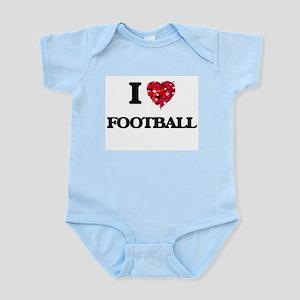 I love Football Body Suit