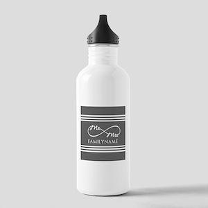 Mr. Mrs. Infinity Gra Stainless Water Bottle 1.0L