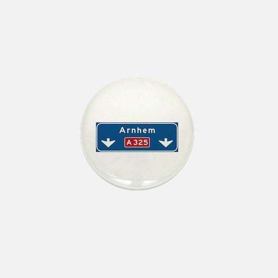 Arnhem Roadmarker (NL) Mini Button