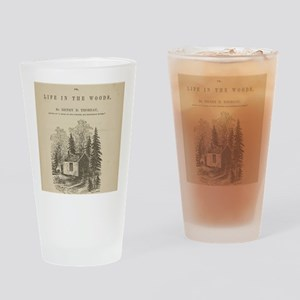 Walden by Thoreau Drinking Glass