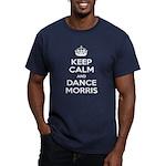 Morris Dancing Men's Fitted T-Shirt (dark)