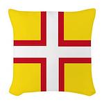 Dorset Flag Woven Throw Pillow