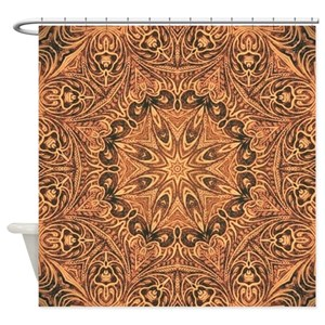 Leather Western Shower Curtains