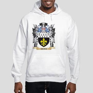 Dicks Coat of Arms - Family Cres Hooded Sweatshirt