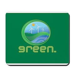 Green Energy Mousepad