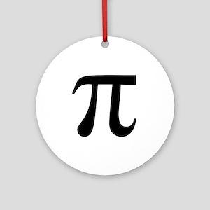 Pi symbol Ornament (Round)