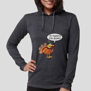 Thankful For Vegans Turkey Long Sleeve T-Shirt