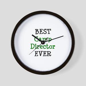 best camp director Wall Clock