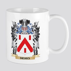 Dierks Coat of Arms - Family Crest Mugs
