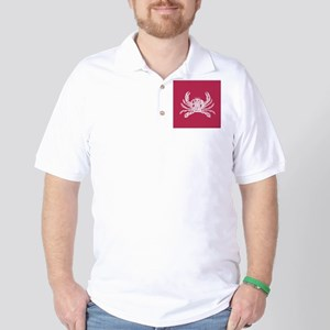 Red Crab Golf Shirt