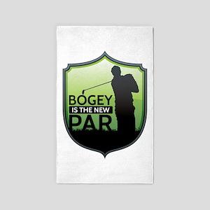 Golf - Bogey is the New Par Area Rug