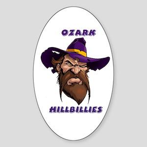 Ozark Hillbilly Oval Sticker