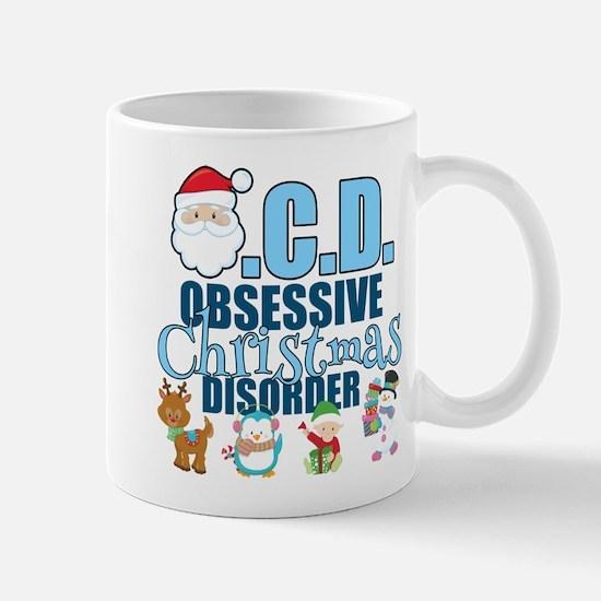 Obsessive Christmas Disorder Mug