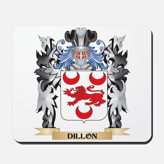 Dillon Coat of Arms - Family Crest Mousepad