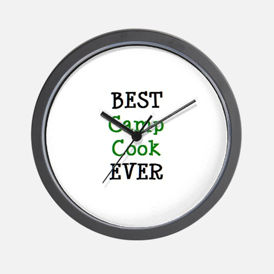 best camp cook Wall Clock