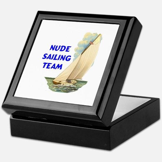 NUDE SAILING Keepsake Box