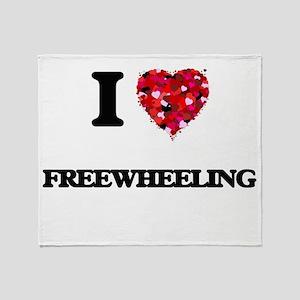 I love Freewheeling Throw Blanket