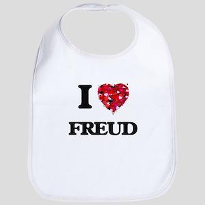 I love Freud Bib