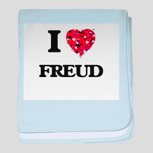 I love Freud baby blanket
