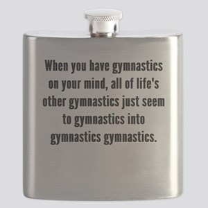 Gymnastics On Your Mind Flask