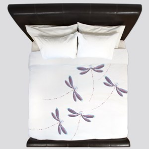 Dragonfly flight King Duvet