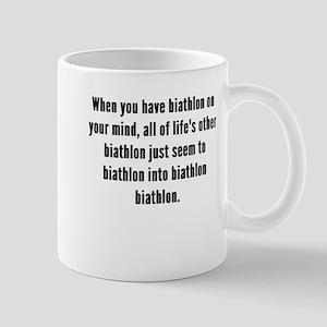 Biathlon On Your Mind Mugs