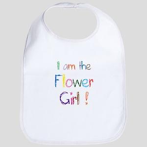 I am the Flower Gorl Bib