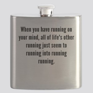 Running On Your Mind Flask