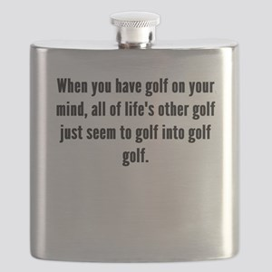 Golf On Your Mind Flask