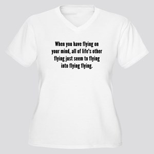 Flying On Your Mind Plus Size T-Shirt