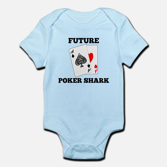 Future Poker Shark Body Suit