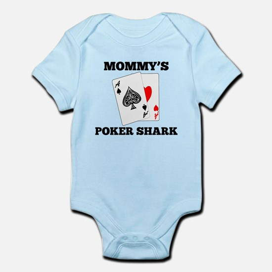 Mommys Poker Shark Body Suit