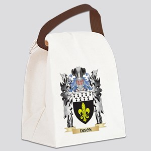 Dixon Coat of Arms - Family Crest Canvas Lunch Bag