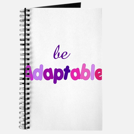 be Adaptable Journal