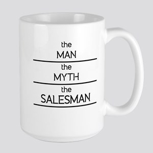 The Man The Myth The Salesman Mugs
