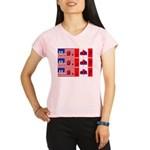 US, eh? US, eh? US, eh? Performance Dry T-Shirt