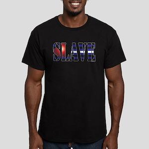 Slave Men's Fitted T-Shirt (dark)