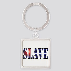 Slave Square Keychain