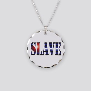 Slave Necklace Circle Charm