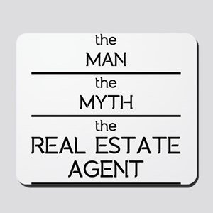 The Man The Myth The Real Estate Agent Mousepad