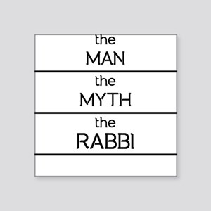 The Man The Myth The Rabbi Sticker
